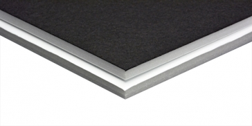 Freestyle Foam Board Black and White - 32 in. x 40 in. x 3/16 in., 25 Sheet Pack